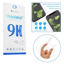 Apple iPhone 7 / 8 Flexible Nano Glass 9H flexibilis kijelzővédő üvegfólia, Átlátszó