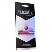 Apple iPhone 7 / 8 5D Full Nano Glass rugalmas üvegfólia, Fekete