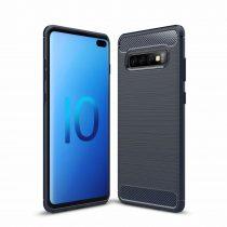 Samsung Galaxy S10 Lite Carbon Case karbonmintás szilikon telefontok
