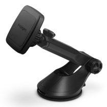 SPIGEN H35 műszerfalra illeszthető, állítható mágneses autós telefontartó, Fekete