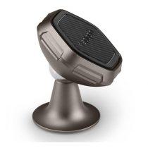 Spigen QS40 műszerfalra illeszthető mágneses autós telefontartó, Fekete